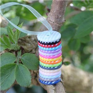 Stripe Button - Mini Tower