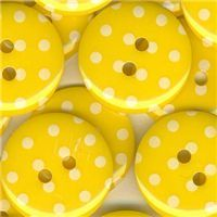 Spotty Button -Yellow