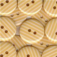 Stripe Button - Lemon