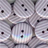 Stripe Button - Mauve