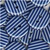 Order  Stripe Button - Navy