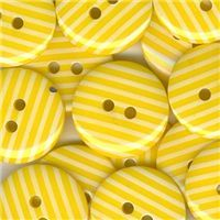 Stripe Button -Yellow
