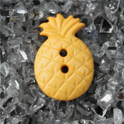 Button - Pineapple