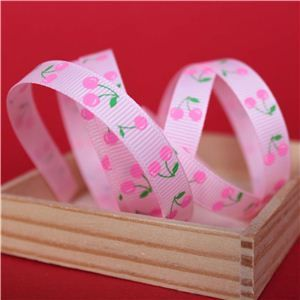 Cherry Pick Ribbons - 10mm Pearl Pink