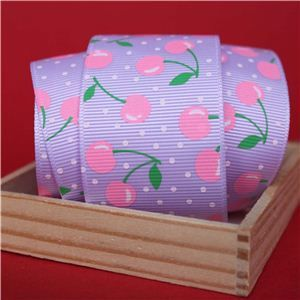 Cherry Pick Ribbons - 40mm Lt Orchid