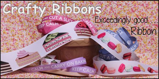 cake and baking ribbons