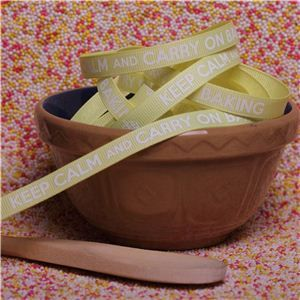 Bake Ribbons - Carry on Baking Lemon
