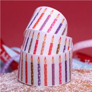 Cake Ribbons - Candle