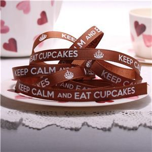 Cupcake Ribbons - Eat Cupcakes Coffee