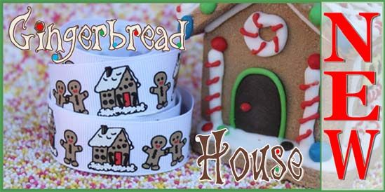 gingerbread men ribbons and buttons
