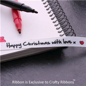Christmas Ribbon - love x
