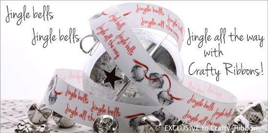 jingle bells ribbon
