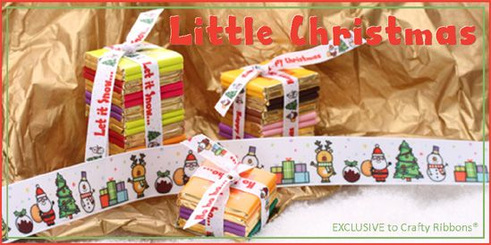 little christmas ribbon