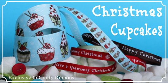 christmas cupcake ribbon