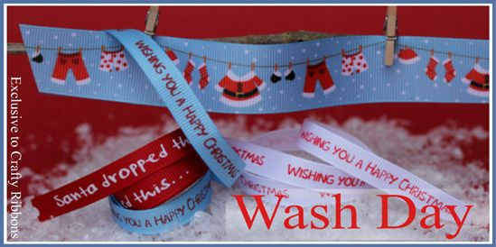wash day ribbon