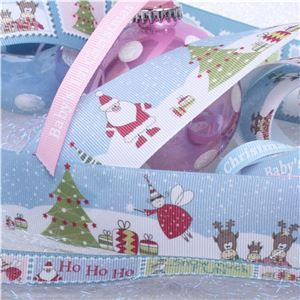Winterscene Stamp Ribbon - WANT IT ALL