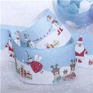 Winterscene Stamp Ribbon - Scene