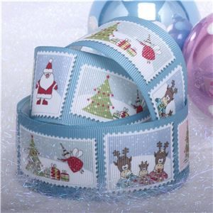 Winterscene Stamp Ribbon - Stamps
