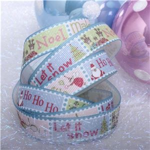 Winterscene Stamp Ribbon - Stamp Messages