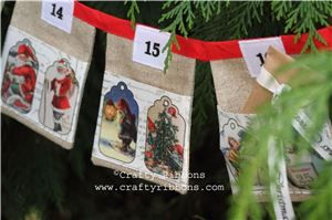 Advent Bunting Bits