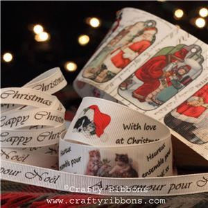 Vintage Christmas Past Ribbon - WANT IT ALL