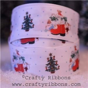 Mice Christmas Ribbon - Boot