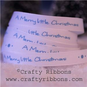 Mice Christmas Ribbon - Merry Little