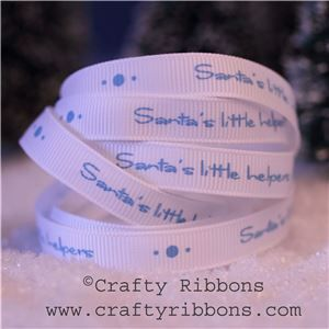 Mice Christmas Ribbon - Little Helpers