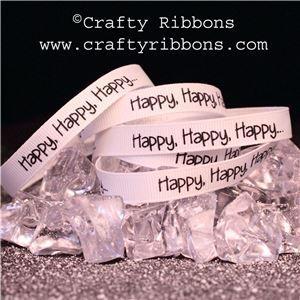 Penguin Pals Ribbon - Happy, Happy, Happy
