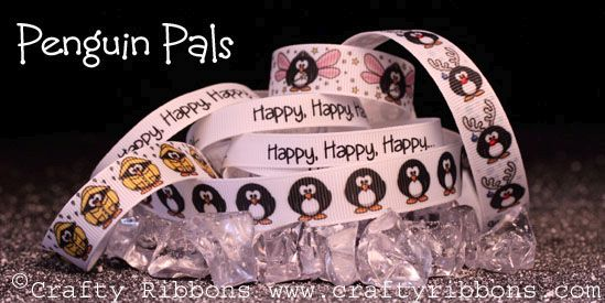 penguin pals ribbon collection