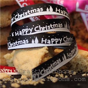 White Christmas - Happy Christmas/Black