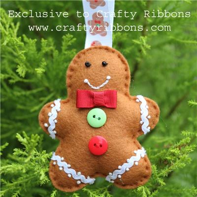 Gingerbread Ribbons - Boy Kit