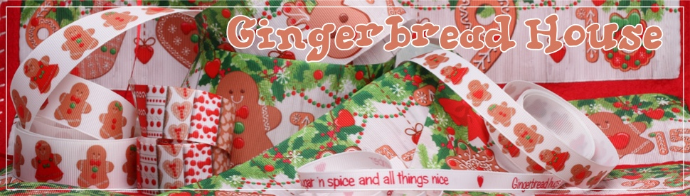 gingerbread ribbons