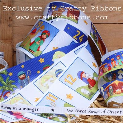 Nativity Ribbons - WANT IT ALL