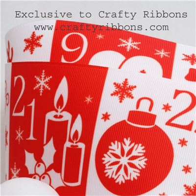 Scandi Ribbons -  Advent Pockets