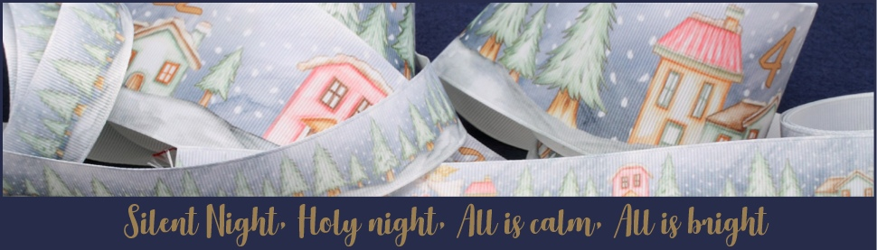 silent night ribbons