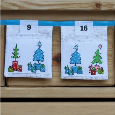 Bunting Kit - Funky Trees