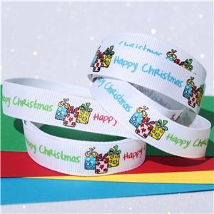 Christmas Ribbon - Funky Parcels