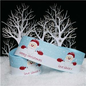 Christmas Ribbon - love santa x