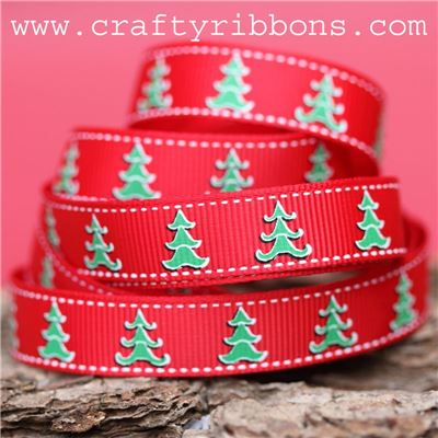 Advent Tree Ribbon - Trees