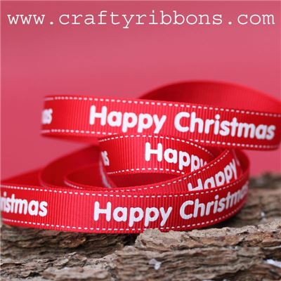 Advent Tree Ribbon - Happy Christmas