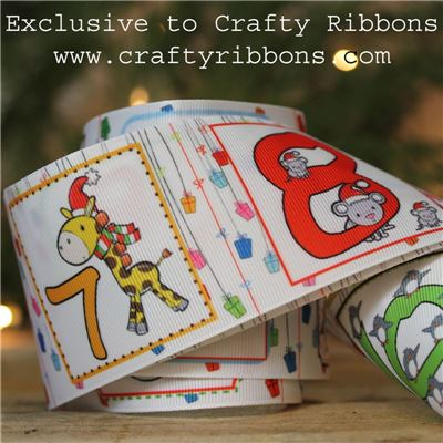 Animal Christmas Ribbon - Pockets