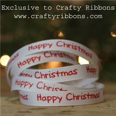 Animal Christmas Ribbon - Happy Christmas