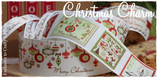christmas ribbon collection from crafty ribbons