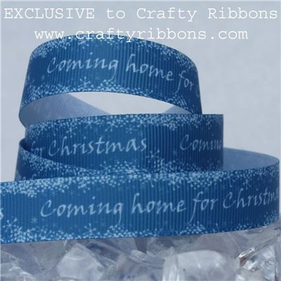 Coming Home Ribbon - for Christmas