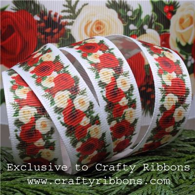 Christmas Rose - 19mm Roses