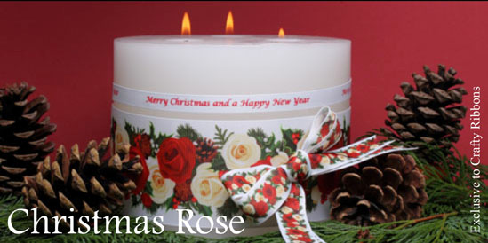 Christmas Rose ribbon