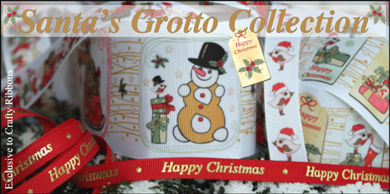 Santa's Grotto Ribbon Collection