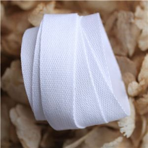 Cotton Ribbon - White