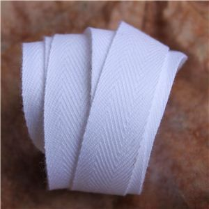 Twill Tape - White